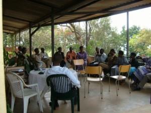 Our first workshop in Rwanda